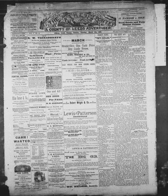 Athens Reporter and County of Leeds Advertiser (18920112), 5 Mar 1889