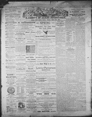 Athens Reporter and County of Leeds Advertiser (18920112), 12 Mar 1889