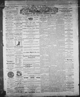 Athens Reporter and County of Leeds Advertiser (18920112), 26 Mar 1889