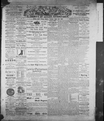 Athens Reporter and County of Leeds Advertiser (18920112), 2 Apr 1889