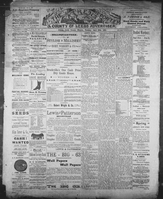 Athens Reporter and County of Leeds Advertiser (18920112), 30 Apr 1889