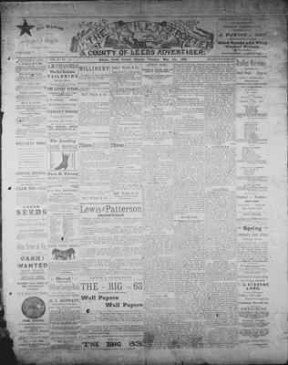 Athens Reporter and County of Leeds Advertiser (18920112), 7 May 1889