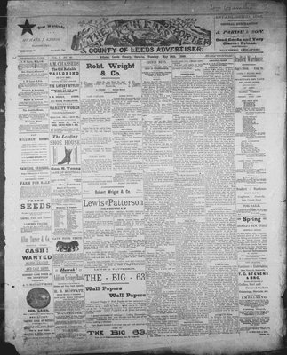 Athens Reporter and County of Leeds Advertiser (18920112), 14 May 1889