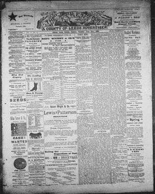 Athens Reporter and County of Leeds Advertiser (18920112), 18 Jun 1889