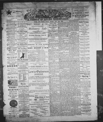 Athens Reporter and County of Leeds Advertiser (18920112), 2 Jul 1889
