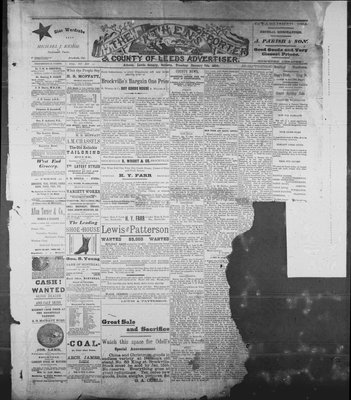 Athens Reporter and County of Leeds Advertiser (18920112), 7 Jan 1890