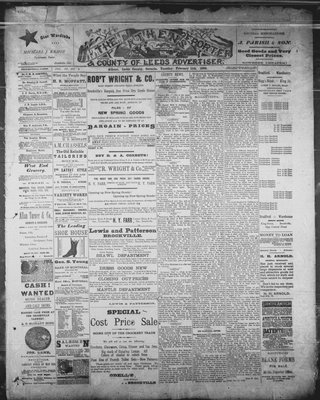 Athens Reporter and County of Leeds Advertiser (18920112), 11 Feb 1890