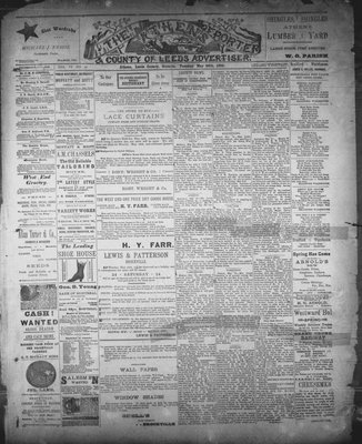 Athens Reporter and County of Leeds Advertiser (18920112), 20 May 1890
