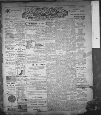 Athens Reporter and County of Leeds Advertiser (18920112), 27 May 1890