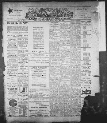 Athens Reporter and County of Leeds Advertiser (18920112), 12 Aug 1890