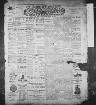 Athens Reporter and County of Leeds Advertiser (18920112), 21 Oct 1890