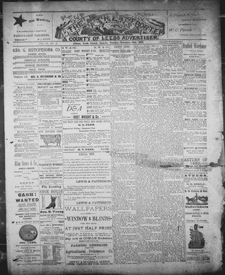 Athens Reporter and County of Leeds Advertiser (18920112), 18 Nov 1890