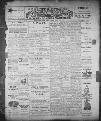 Athens Reporter and County of Leeds Advertiser (18920112), 27 Jan 1891