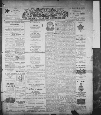 Athens Reporter and County of Leeds Advertiser (18920112), 10 Feb 1891