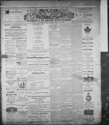 Athens Reporter and County of Leeds Advertiser (18920112), 17 Feb 1891