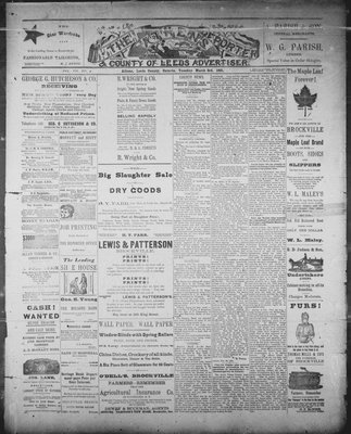 Athens Reporter and County of Leeds Advertiser (18920112), 3 Mar 1891