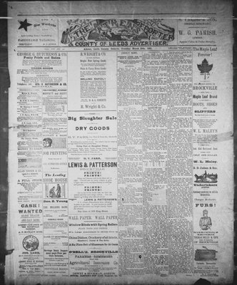 Athens Reporter and County of Leeds Advertiser (18920112), 10 Mar 1891