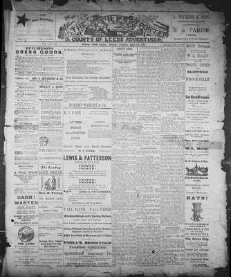Athens Reporter and County of Leeds Advertiser (18920112), 7 Apr 1891