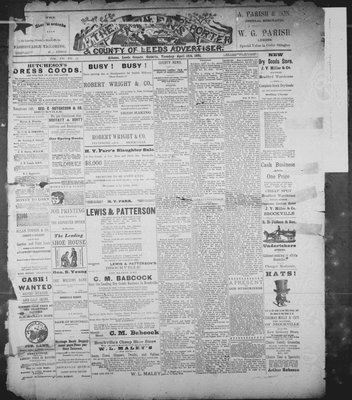 Athens Reporter and County of Leeds Advertiser (18920112), 14 Apr 1891