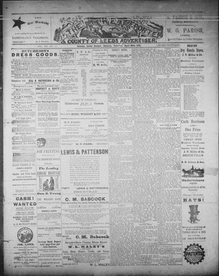 Athens Reporter and County of Leeds Advertiser (18920112), 28 Apr 1891