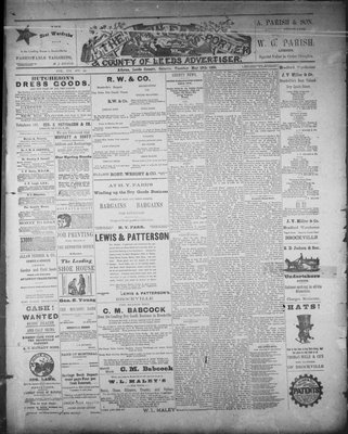 Athens Reporter and County of Leeds Advertiser (18920112), 19 May 1891