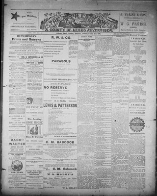 Athens Reporter and County of Leeds Advertiser (18920112), 2 Jun 1891