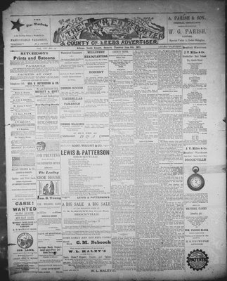 Athens Reporter and County of Leeds Advertiser (18920112), 9 Jun 1891