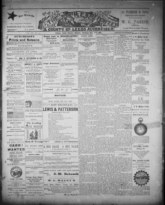 Athens Reporter and County of Leeds Advertiser (18920112), 16 Jun 1891