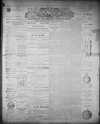 Athens Reporter and County of Leeds Advertiser (18920112), 28 Jul 1891