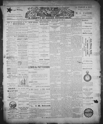 Athens Reporter and County of Leeds Advertiser (18920112), 4 Aug 1891