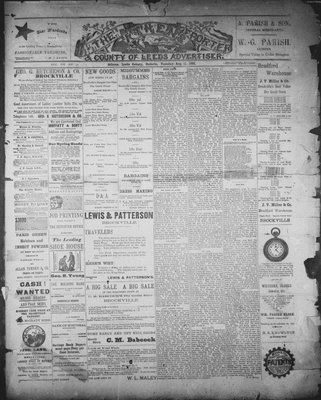 Athens Reporter and County of Leeds Advertiser (18920112), 11 Aug 1891