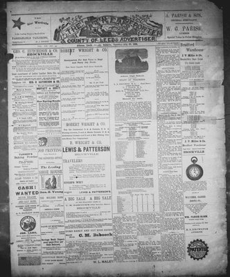 Athens Reporter and County of Leeds Advertiser (18920112), 25 Aug 1891