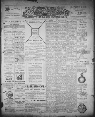 Athens Reporter and County of Leeds Advertiser (18920112), 6 Oct 1891