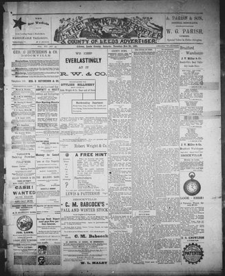 Athens Reporter and County of Leeds Advertiser (18920112), 24 Nov 1891
