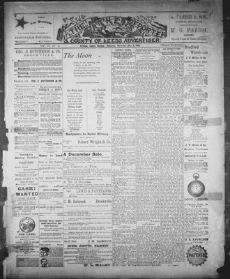 Athens Reporter and County of Leeds Advertiser (18920112), 8 Dec 1891