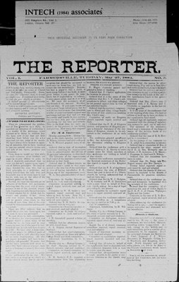 Farmersville Reporter and County of Leeds Advertiser (18840522), 27 May 1884