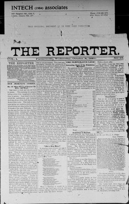 Farmersville Reporter and County of Leeds Advertiser (18840522), 8 Oct 1884