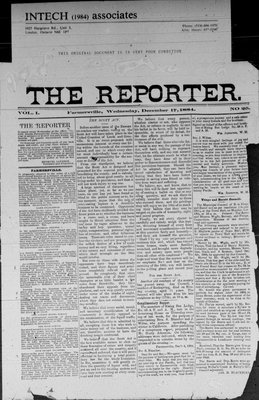 Farmersville Reporter and County of Leeds Advertiser (18840522), 17 Dec 1884