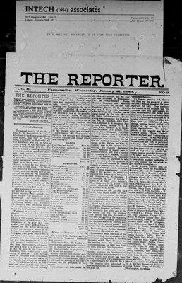 Farmersville Reporter and County of Leeds Advertiser (18840522), 21 Jan 1885