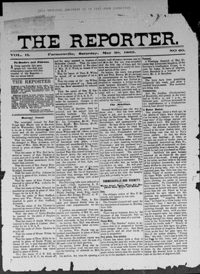 Farmersville Reporter and County of Leeds Advertiser (18840522), 30 May 1885