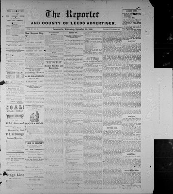 Farmersville Reporter and County of Leeds Advertiser (18840522), 1 Sep 1886