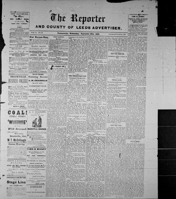 Farmersville Reporter and County of Leeds Advertiser (18840522), 29 Sep 1886