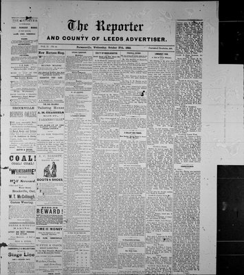 Farmersville Reporter and County of Leeds Advertiser (18840522), 27 Oct 1886