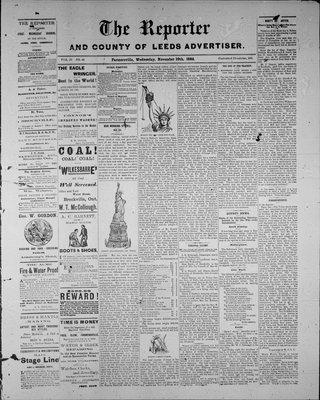 Farmersville Reporter and County of Leeds Advertiser (18840522), 10 Nov 1886