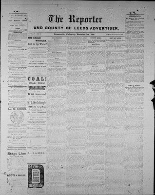 Farmersville Reporter and County of Leeds Advertiser (18840522), 17 Nov 1886