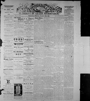 Farmersville Reporter and County of Leeds Advertiser (18840522), 22 Dec 1886