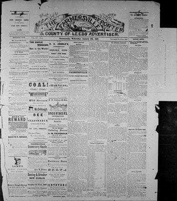Farmersville Reporter and County of Leeds Advertiser (18840522), 5 Jan 1887