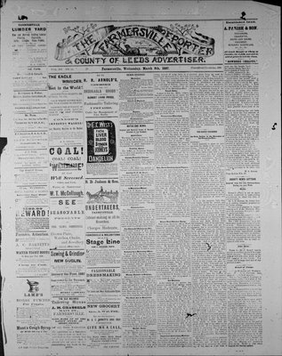 Farmersville Reporter and County of Leeds Advertiser (18840522), 9 Mar 1887