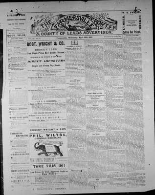Farmersville Reporter and County of Leeds Advertiser (18840522), 20 Apr 1887