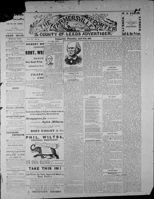 Farmersville Reporter and County of Leeds Advertiser (18840522), 27 Apr 1887